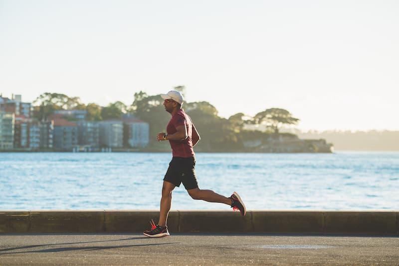 Sporten hardlopen